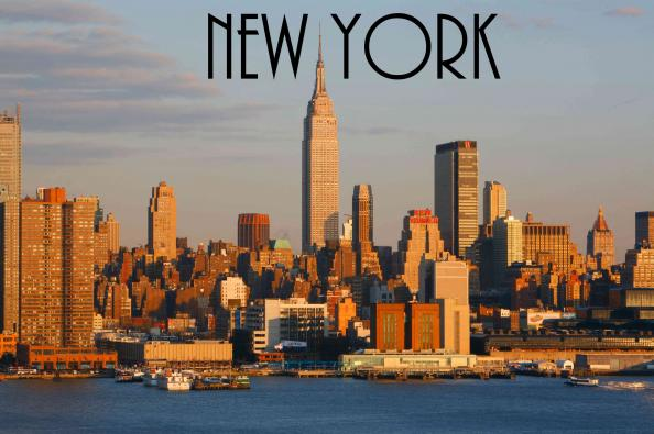 Här är New York!