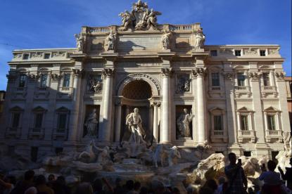 Fontana di Trevi - barocken