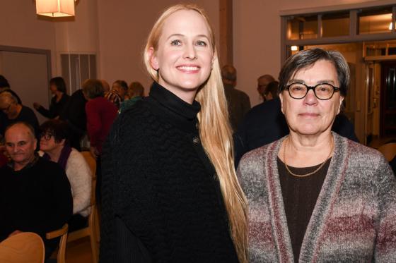 Lena Andersson hade fått faktahjälp av Kersti Ingeborn från Centrum för bastabinne i Ödenäs.