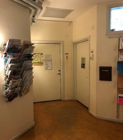 Dörren till skolsköterskan