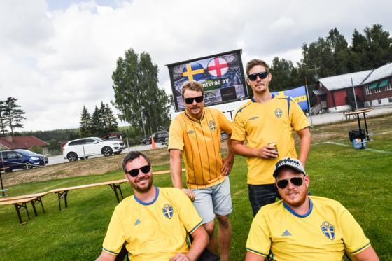 Jonathan Wikström, Joel Svenberg, Peter Bengtsson och Alexander Bernhardsson placerade sina stolar på bra VM-plats.