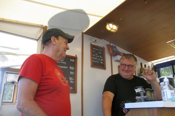 Tommy Söderholm, STF och guiden Lars Eriksson