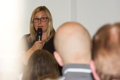 Maria Johansson, enhetschef för boendet för ensamma kommande barn i Bollebygd svarade på många av de frågor som kommit in till kommunen om det planerade HVB-hemmet.