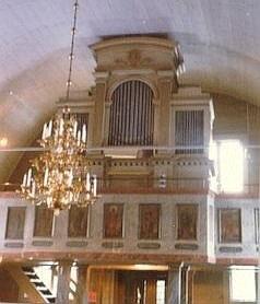 Orgeln i Tångeråsa kyrka