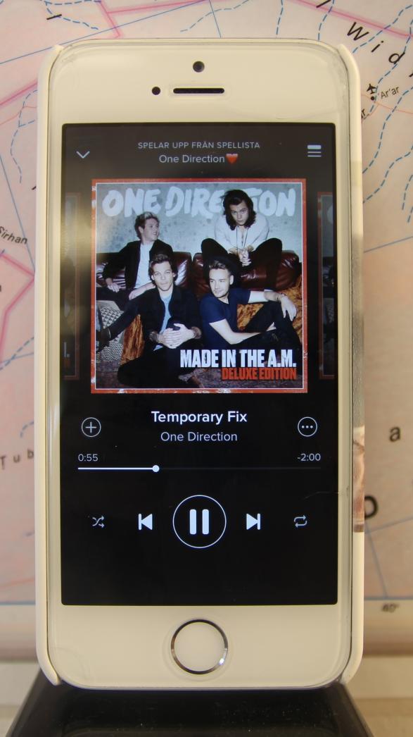 One Directions nya skiva med en av låtarna