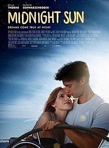 Bildkälla:https://en.wikipedia.org/wiki/Midnight_Sun_(2018_film)#/media/File:Midnight_Sun_2017.jpg