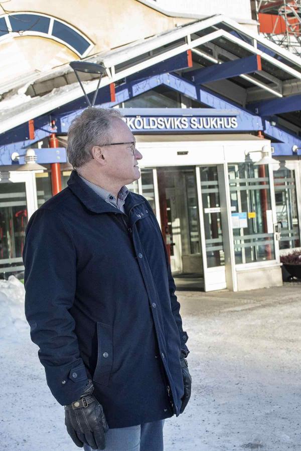 <span>Regionstyrelsens ordförande Glenn Nordlund tycker det är hög tid att arbetsmiljön förbättras på &Ouml;rnsköldsviks sjukhus.</span>