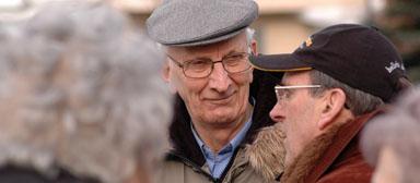 Rolf Johansson har varit medlem i föreningen i cirka 60 år. Rolf har även varit anställd administratör.