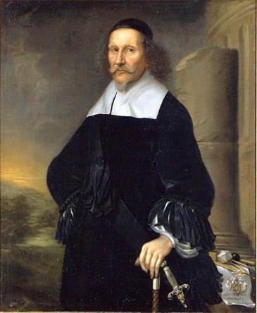 Eric Wennæsius lärare i skaldekonsten Georg Stiernhielm 1598-1672