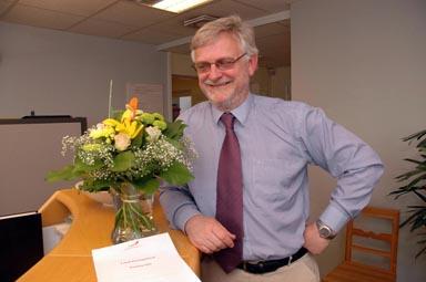 Glad idag - Christer Johansson, kommunstyrelsens ordförande i Bollebygd.