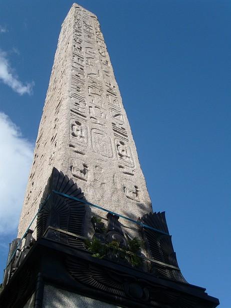 Cleopatra's Needle in Victoria Embankment, London, England