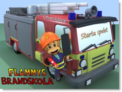 Spelet kommer från Brandskyddsföreningens hemsida