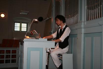 Max Jonssson skolorganist