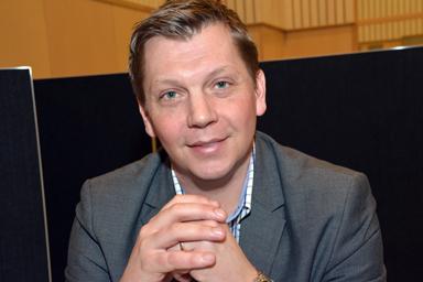 Anders Einarsson, kommunchef i Bollebygd sedan nyåret.