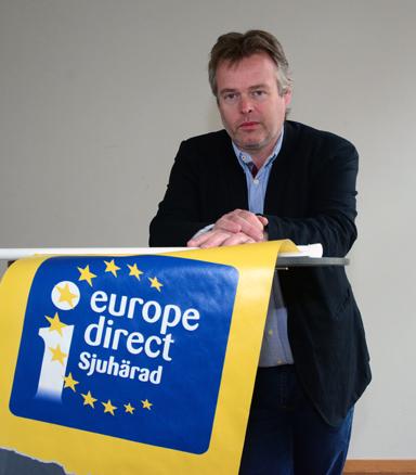 - Självklart handlar en stor del av fokuseringen på EU att intressera alla och inte minst förstagångsväljarna till att nyttja rättigheten att rösta och därmed vara med och påverka framtidens Europa, menar Patrik Gimfalk.