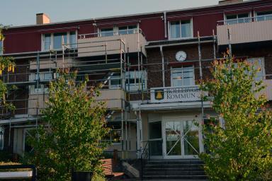 Kommunhuset renoveras...