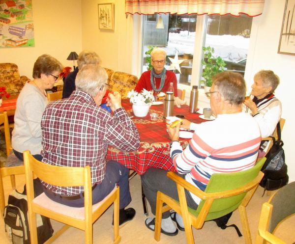 Birger, Monika, Gunnel, Svea, Haldis och Herbert.