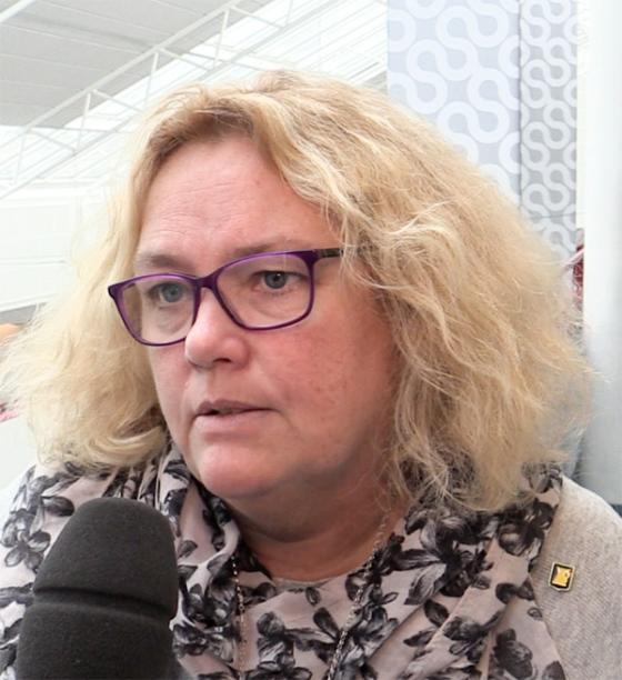 Anneli Fischer, bildnings- och omsorgschef i Bollebygds kommun är mycket nöjd med att Bollebygds kommun har en hög andel behöriga lärare.