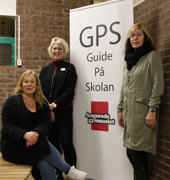 <span>Från vänster Jessica Aronsson, Annelie Skånberg, Susanne Nilisse</span>