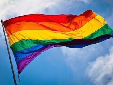 Prideflaggan!