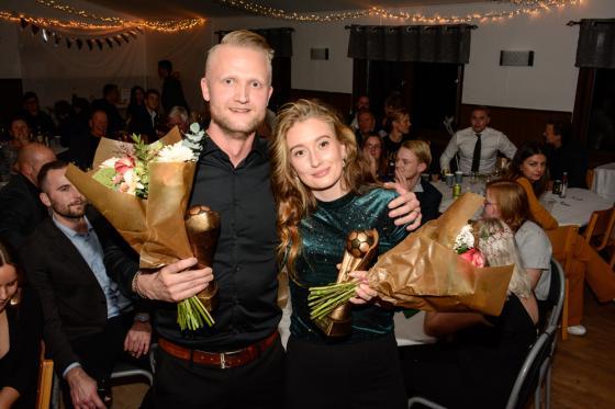 Niklas Bryngelsson och Fanny Kargede.