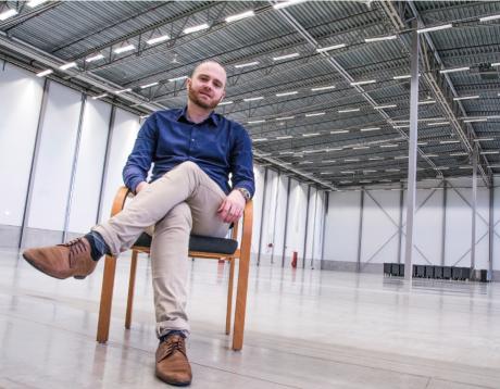Mattias Olofsson, VD för Elanders Sverige, ser ljust på framtida satsningar.