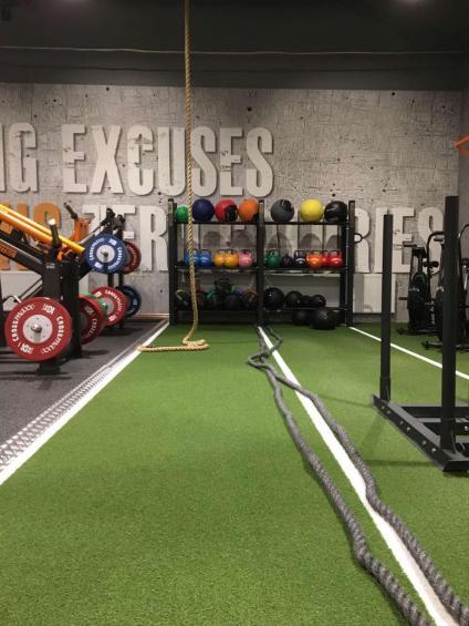 Gymmet Everytime Fitness ligger påTägtgatan 2 i Söderhamns centrum