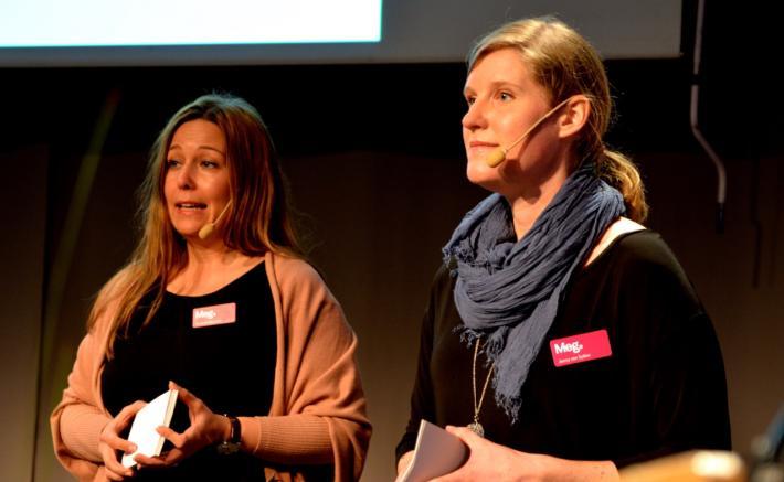 Referat av föredrag på Marknadschefsdagarna 2015 med Susanna Rosander (Getinge) och Jenny von Sydow (NetRelations).