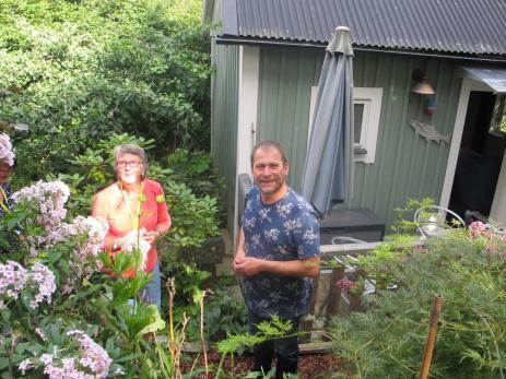 Under lördagen gjordes det ett besök hos Ulf Sill I Mörrum som har ovaliga växter från hela världen.