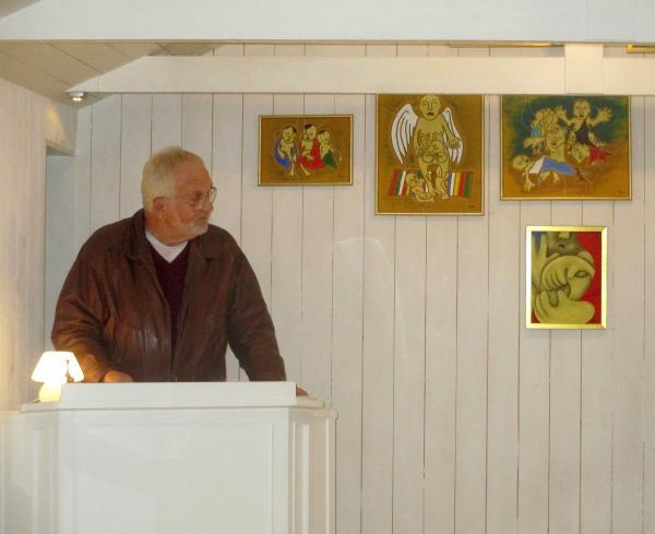 Konstnären Lars Eurenius