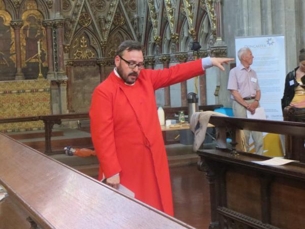 Doncasters färgglade Darren Williams berättar fängslande om den unika Schulze-orgeln