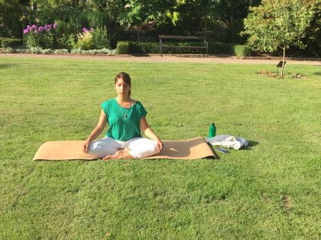 Luna Maria Florencia Ruiz är yogalärare och kommer ursprungligen från Argentina, men bor numera i Asarum.