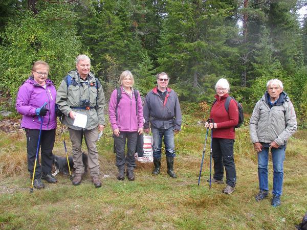 Till Kallsta fäbodar med STF Höga Kusten 21 september