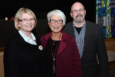 Bildnings- och omsorgsnämnden<br />Bente Johansson 1:e vice ordförande (M), 2:e vice ordförande Barbro Orrestrand (S) och ordförande Ulf Rapp (S)