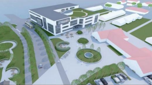 Preliminära ritningar på den nya skolan. Illustration: Arkitektgruppen Tullberg