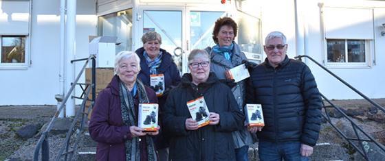Från vänster: Gunn Bodén, Alice Kristiansen, Elisabeth Augustinsson, Rosa-lill Karlsson och Håkan Alfredsson