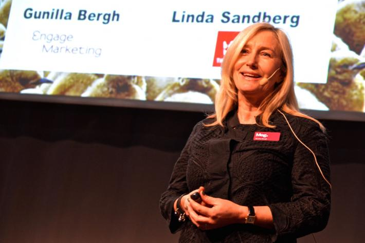 Referat av föredrag på Marknadschefsdagarna 2015 med Gunilla Bergh (byråvalskonsult på Engage Marketing) och Linda Sandberg (Alcro/Beckers).