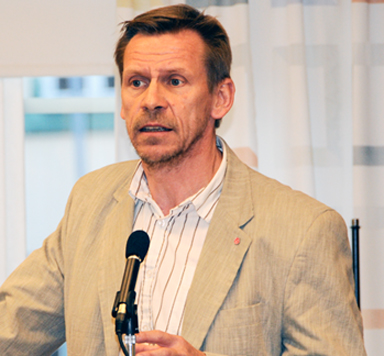 Peter Rosholm (S), kommunstyrelsens ordförande<br />i Bollbygds kommun.