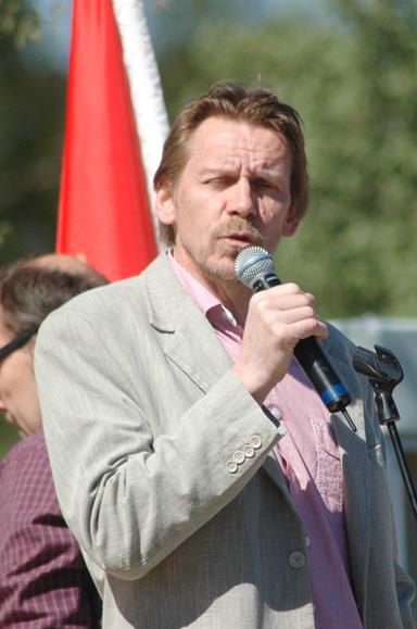 Peter Rosholm, kommunstyrelsens ordförande i Bollebygd finns givetvis på plats under familjedagen på Gästgivaretorget.