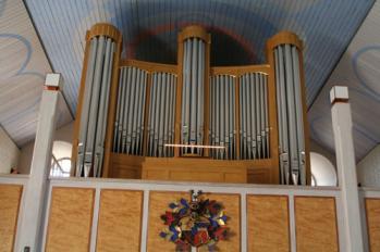 Grönlunds utomordentligt välgjord kopia av Cavaillé-Coll-orgeln i Jesuskirken i København