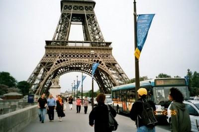 Travelling Europe - Paris