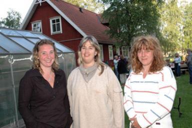Ann Forsman, Camilla Andersson och Kim Norell arbetar som barndagvårdare i gränslandet mellan Bollebygds- och Härryda kommuner. Alla tre är anställda av Bollebygds kommun.