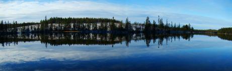En föraning om vinter i Bergsjön.....