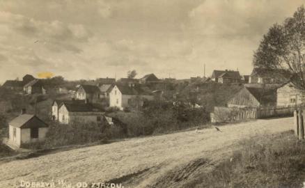 Ulica Zjazd (lata 50.).
