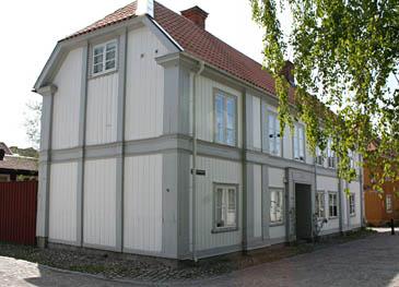 Rektorsgården i Gamla Gefle. Rektors tjänstebostad.