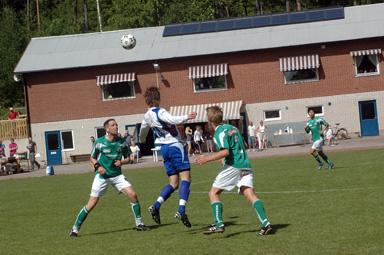 Två mot en- men det räckte inte. Hemmalaget gjorde tre mål och Hestrafors IF inget. 3-0 till Bollebygd