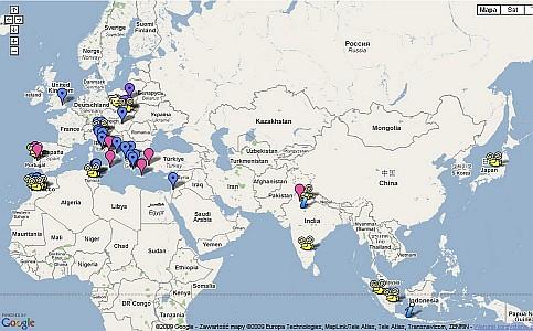 projec UNESCO Heritage Map