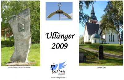På varje uppslag finns bilder hämtade från Ullånger, både aktivitets och naturbilder.