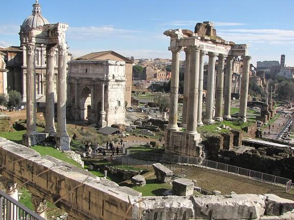 The Roman Forum, (Latin: Forum Romanum)