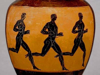 Antika grekiska löpare